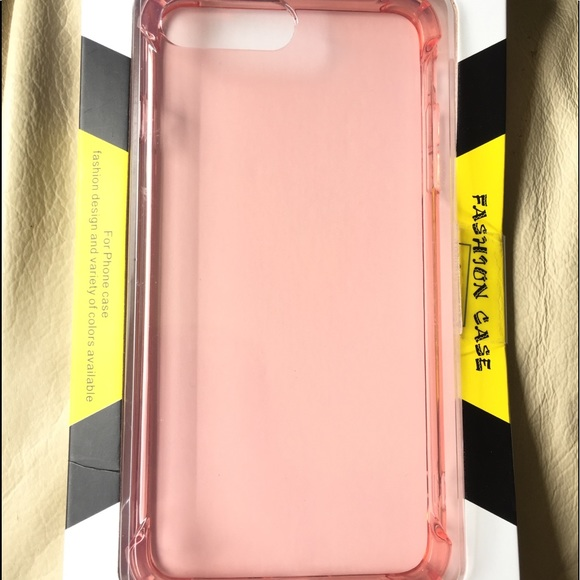 wholesale dealer c1e3a a5a82 Clear Pink Protective iPhone 7/8 Plus Phone Case NWT